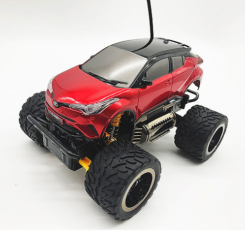 1/28 27mhz Toyota licensed CHR with head light