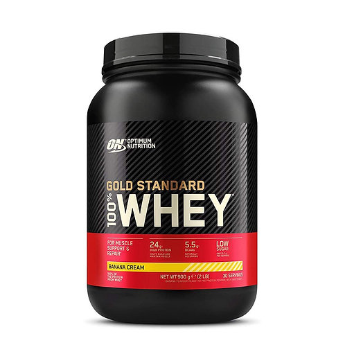 ON 100% Gold Standard Whey Banana Cream