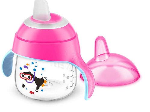 Philips Avent Premium Hard Spout Cup - Pink (7Oz)