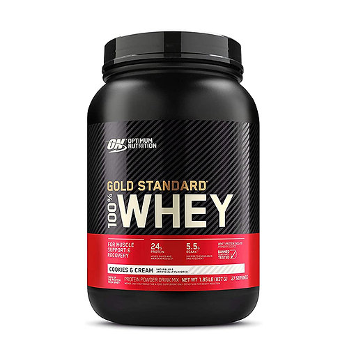 ON 100% Gold Standard Whey Cookies & Cream- 1.85lb