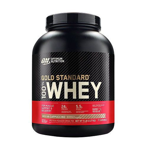 ON 100% Gold Standard Whey Mocha Cappuccino - 5lb