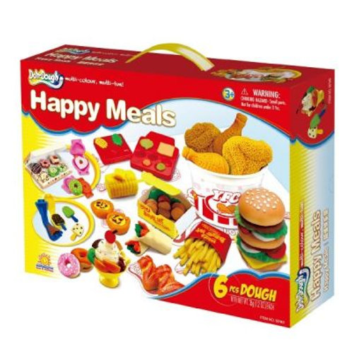 Happy Meals- Play Dough Set