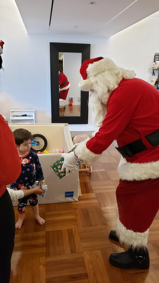 Santa is really a dream come true!
