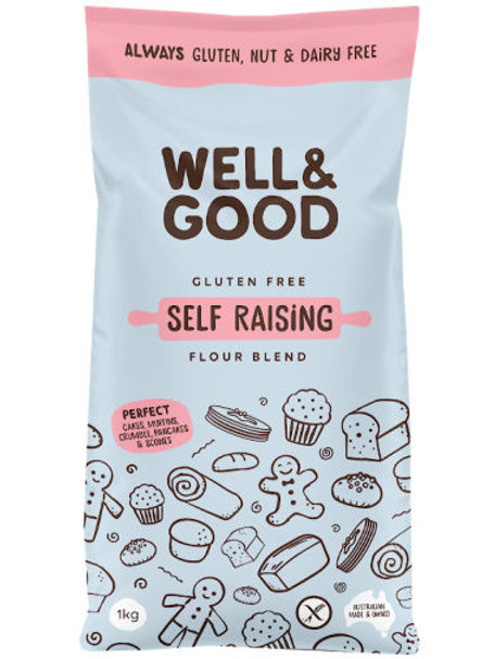 Well & Good Self Raising Flour - 1kg