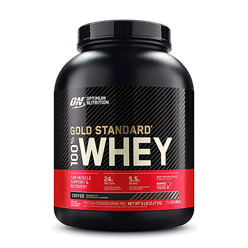 ON 100% Gold Standard Whey Coffee - 5lbs