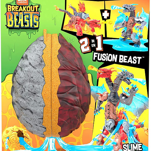 Mega Construx™ Breakout Beasts™ 2-in- 1 Fusion Beast