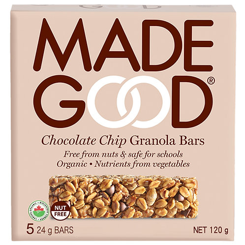 Madegood Organic Chocolate Chips Granola Bars - 120g x 2