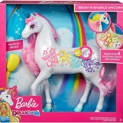 芭比娃娃Dreamtopia Brush'n Sparkle Unicorn