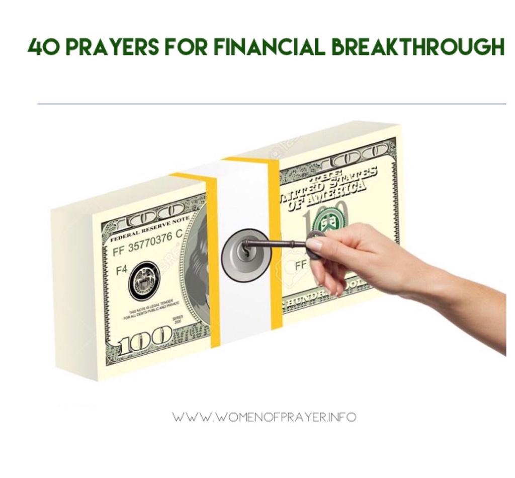 40 Prayers for Financial Breakthrough