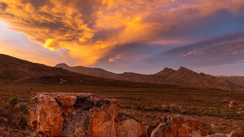 Cederberg Sunset