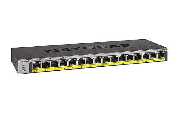 NETGEAR 16 Port Gigabit POE+Switch