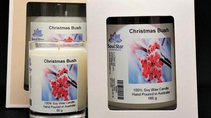 Christmas Bush Candles Large