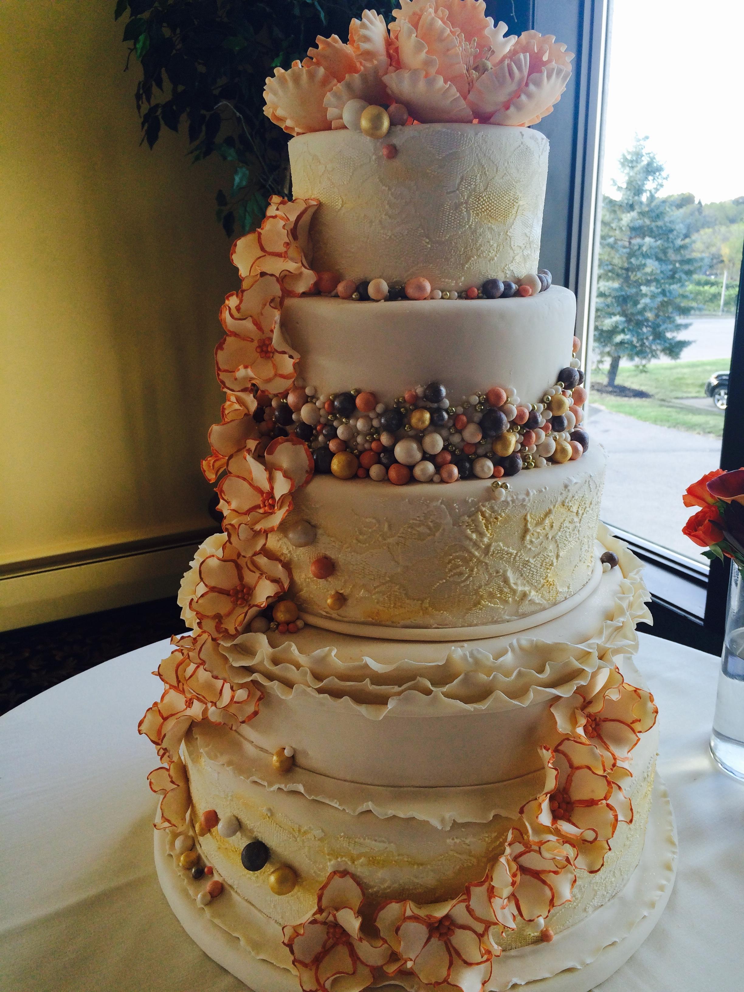 Wedding Cascading Ivory1 Texture
