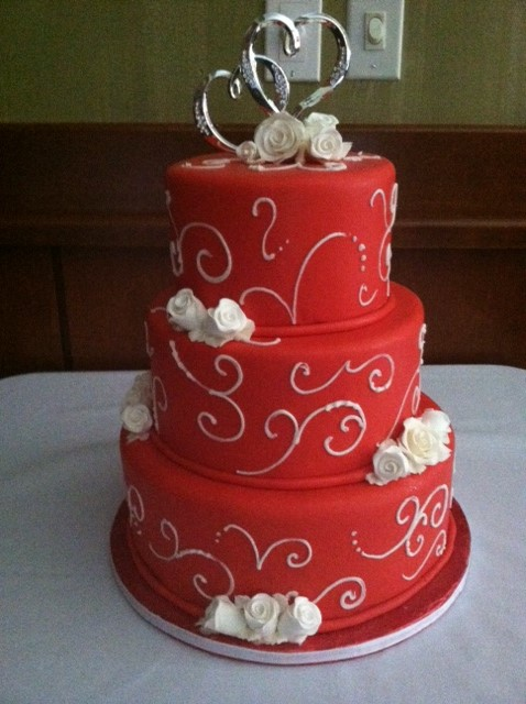 Wedding Red1 Hearts