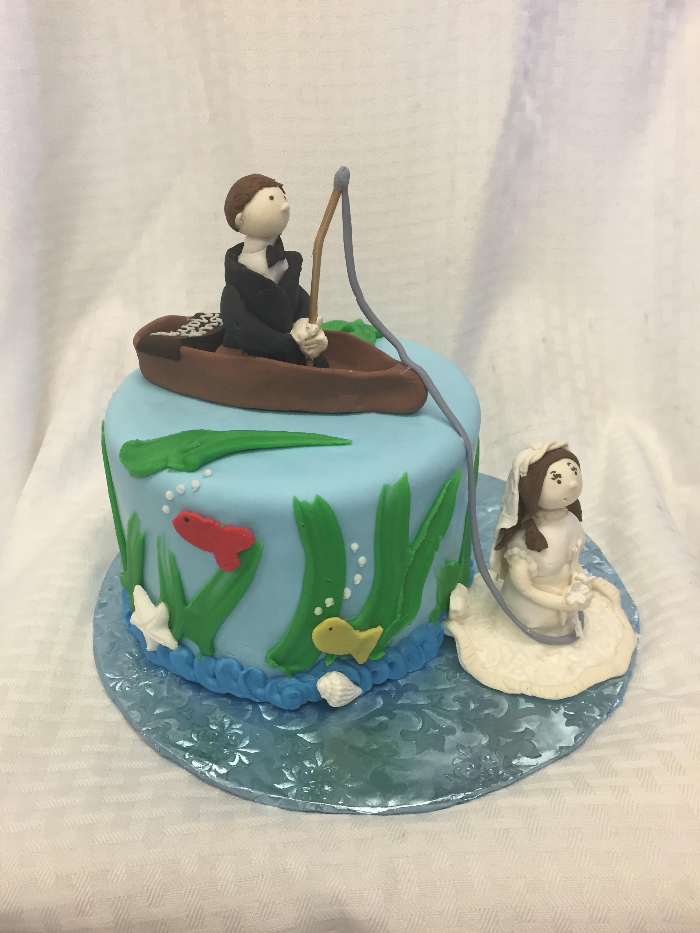 fishing bride