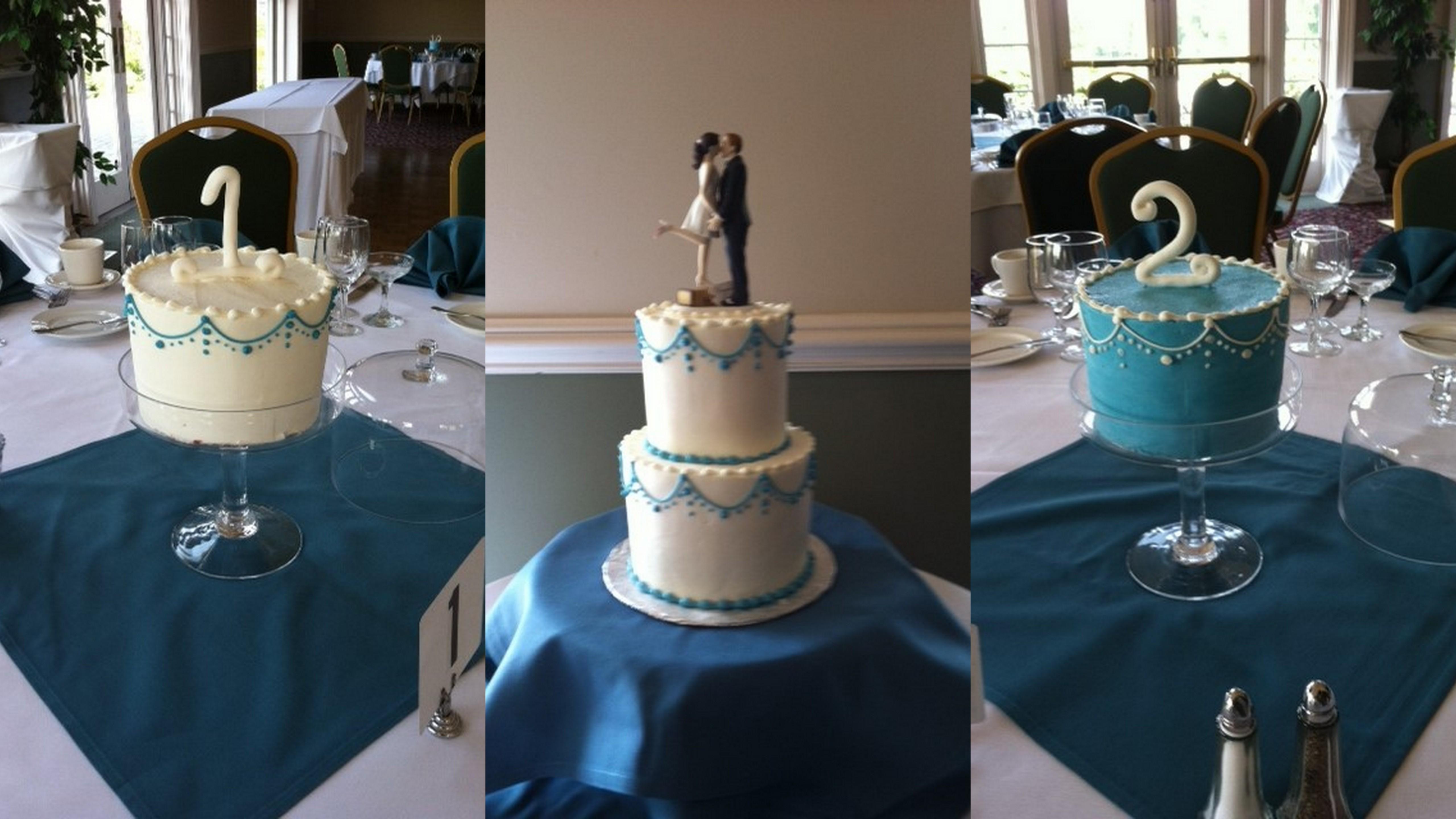 Wedding MultiCake5 Display Collage