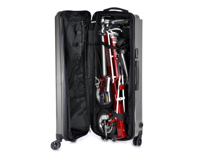 U DESIGN CARRYME ABS/TPU Hard Case Carbon Black