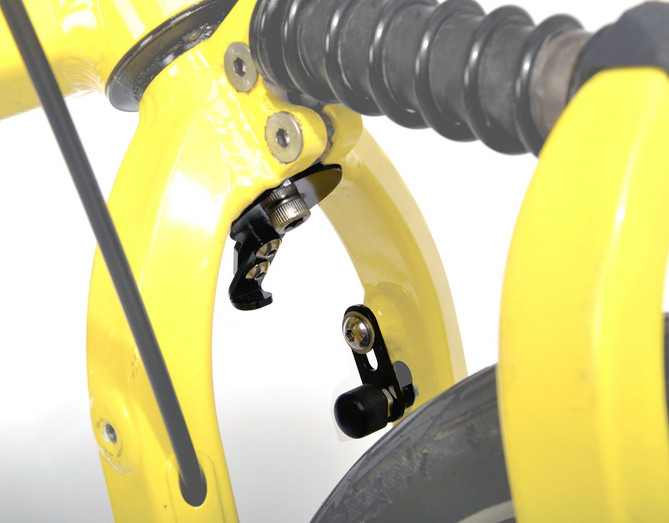 NEW BIRDY Front Wheel Stopper Set
