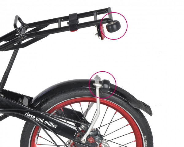 BIRDY Trolley wheel Set