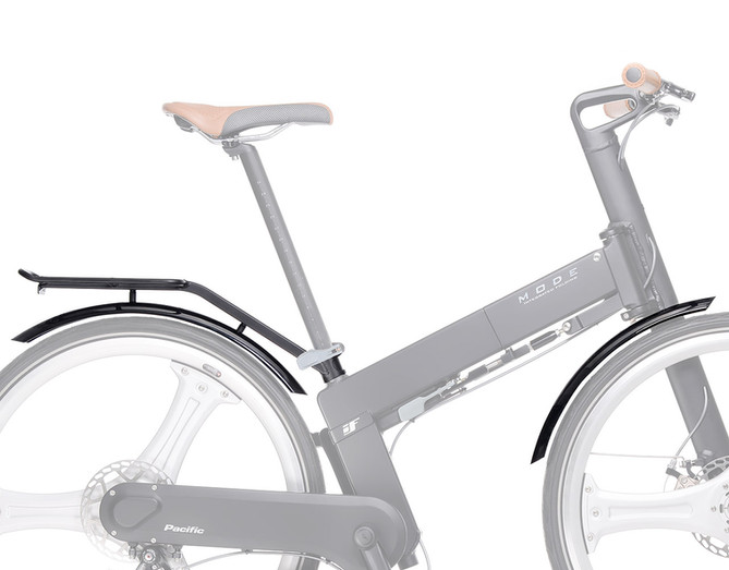 IF MODE F/R Mudguard With Rear Carrier Set
