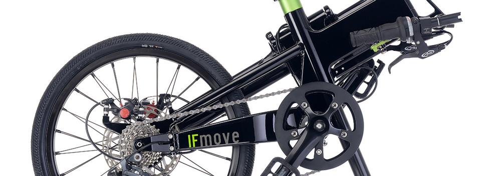 IFMOVE 9SP Black folded