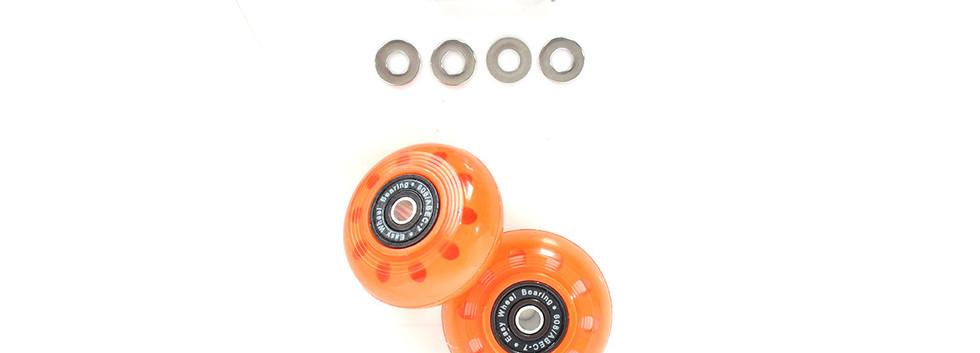 CARRYME Optional Trolly Wheels Orange