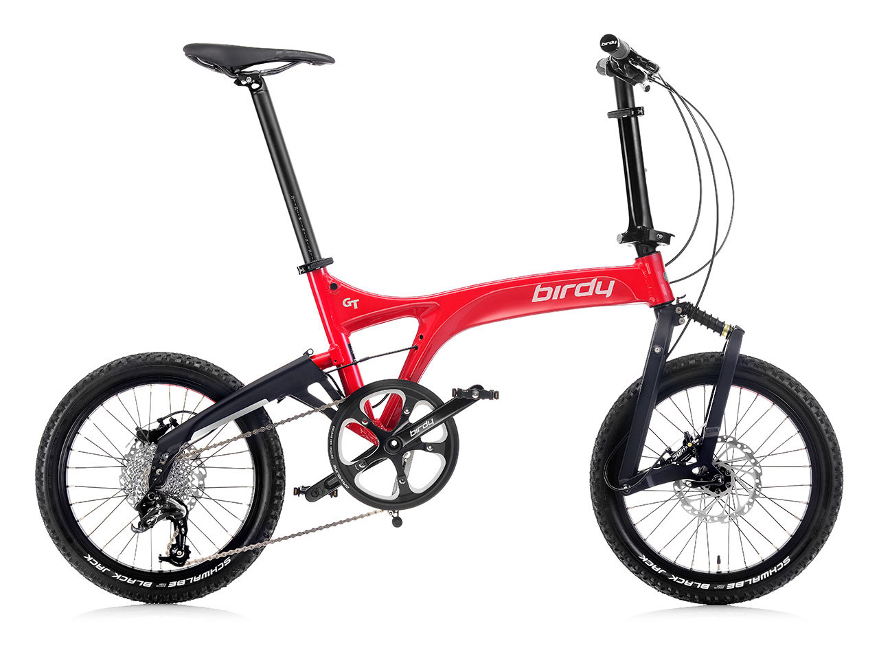 NEW BIRDY GT 10SP Red + Black