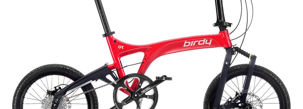 NEW BIRDY GT 10SP Red + Black