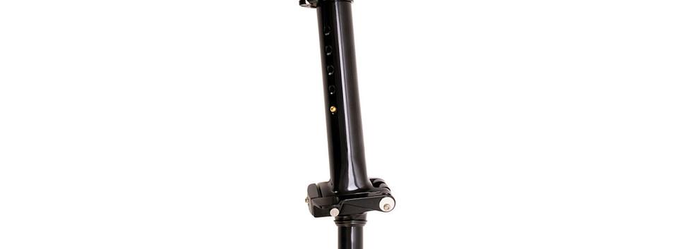 New Birdy adjustable forging stem 10D Black