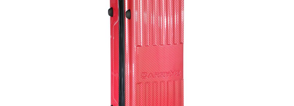 U DESIGN CARRYME ABS/TPU Hard Case Carbon Red