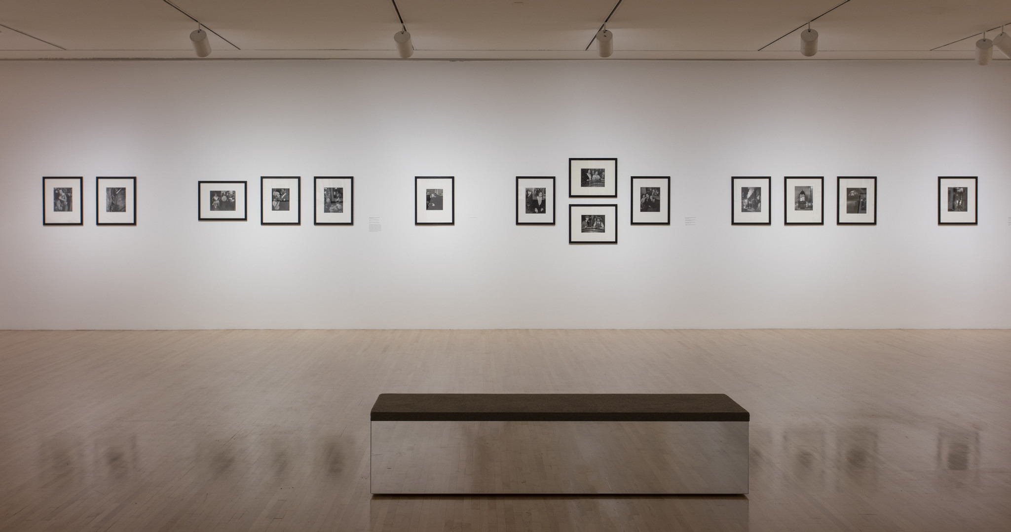 """Installation view of """"Real Worlds: Brassaï, Arbus, Goldin"""", March 4–September 3, 2018 at MOCA Grand Avenue, courtesy of The  Museum of Contemporary Art, Los Angeles, photo by Brian Forrest"""