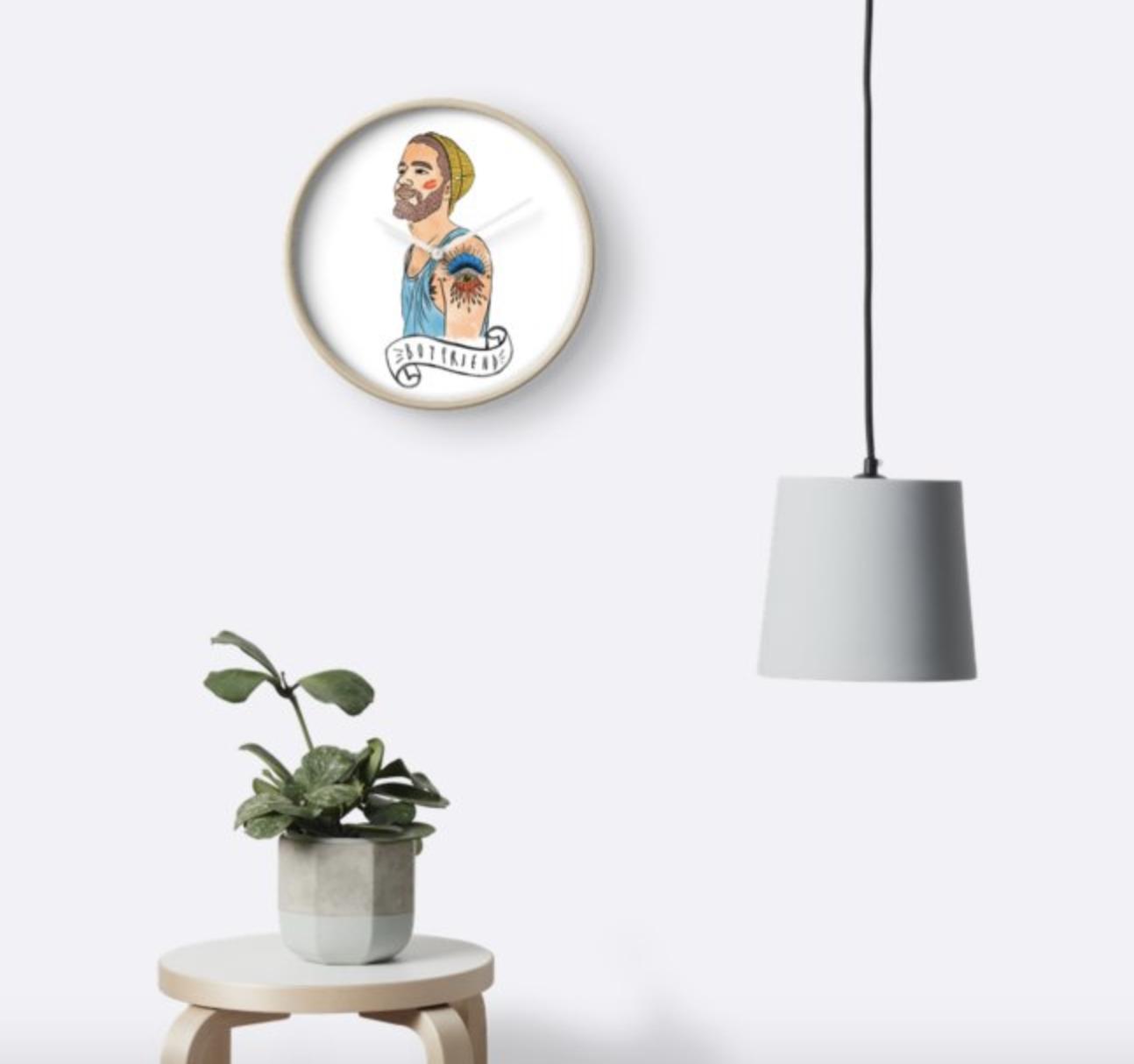 Boyfriend - Wall Clock