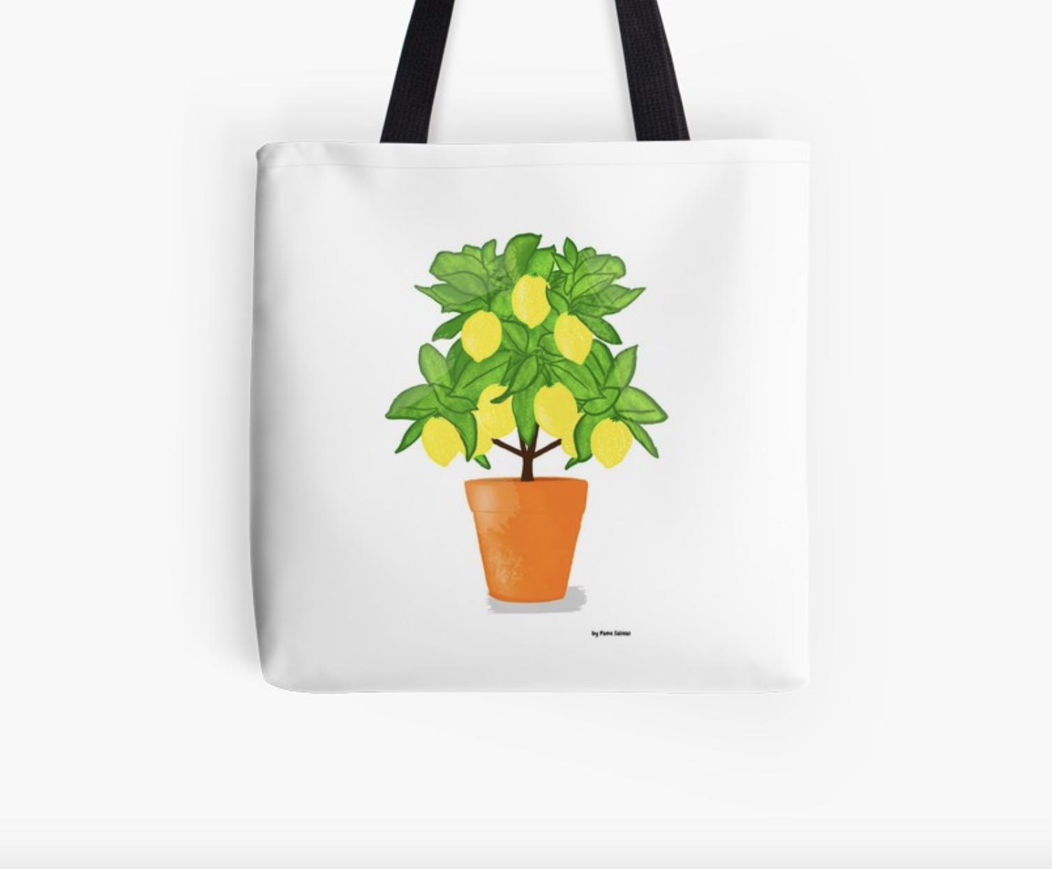Lemon Tree - Tote Bag
