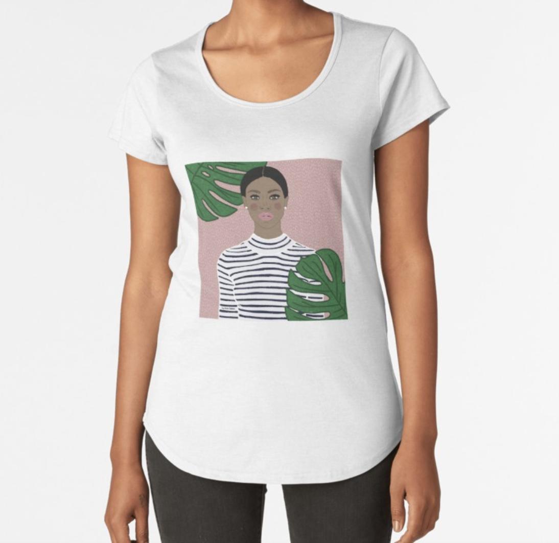 Plants Girl t-shirt