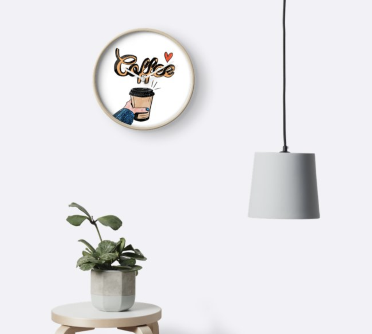 Coffee - Wall Clock