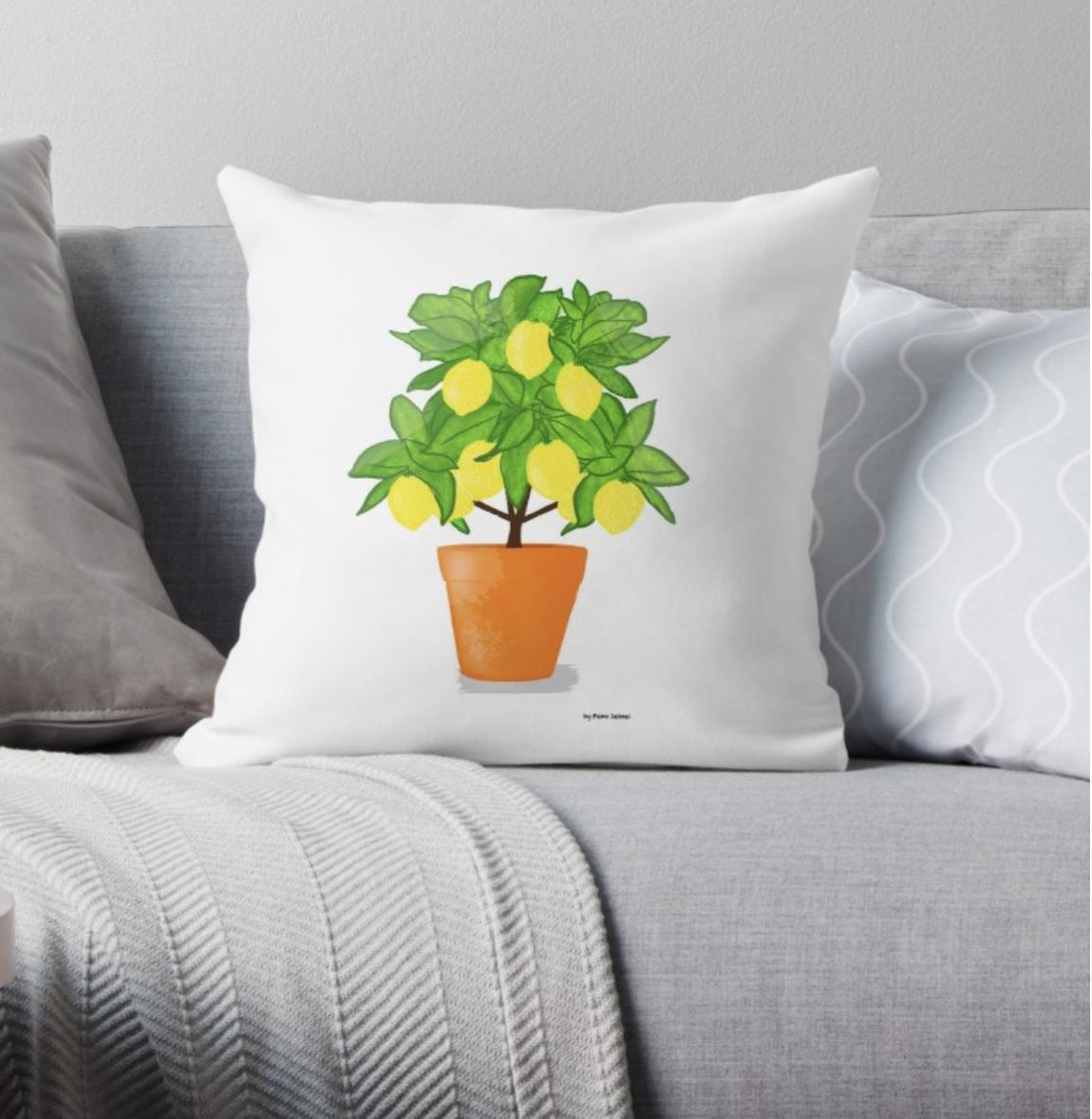 Lemon Tree - Pillow