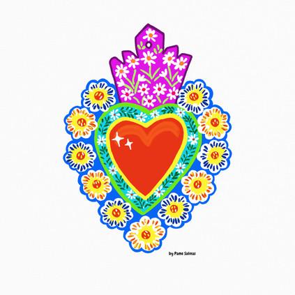 Sacred Heart Tin