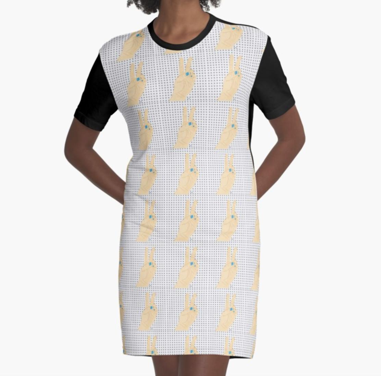 Lefty Peace - Pattern Dress