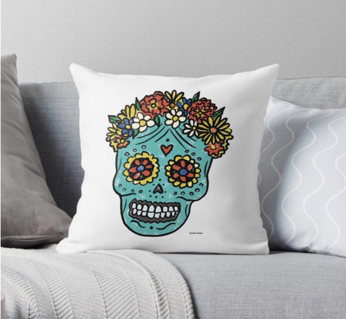 Sugar Skull - Pillow
