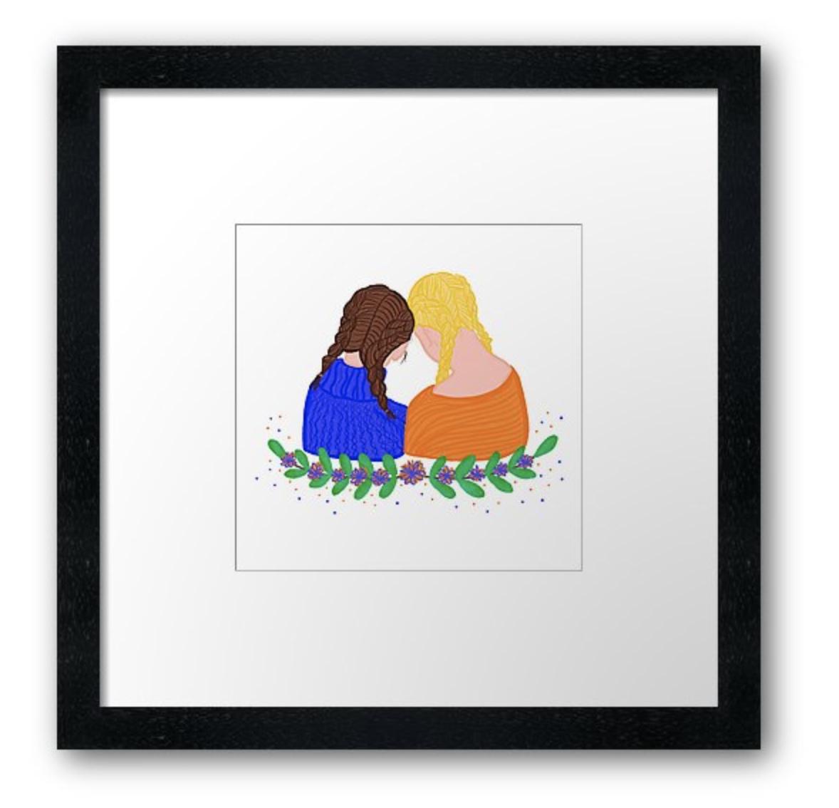 Sisters - Frame