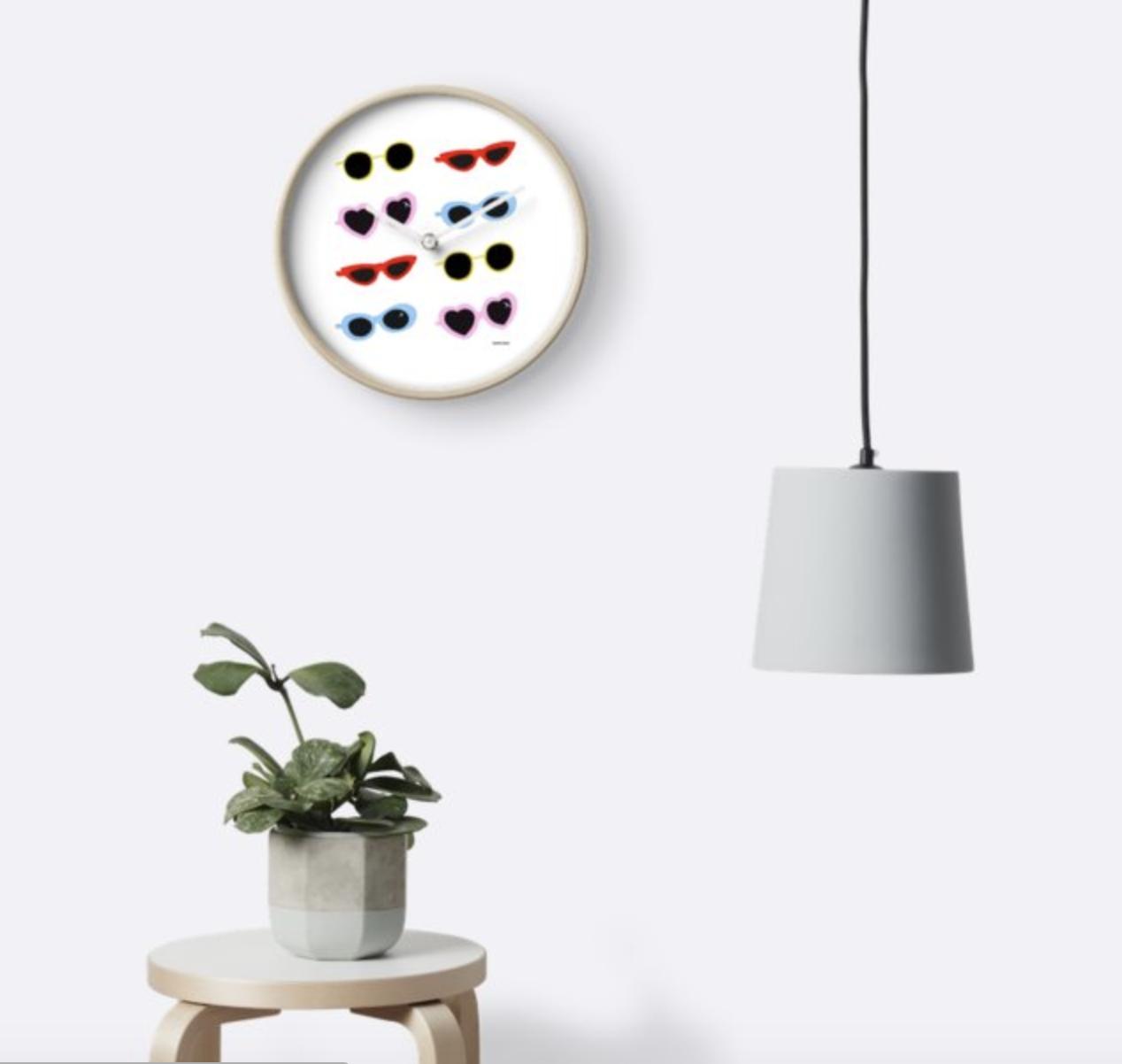 Sunglasses - Wall Clock