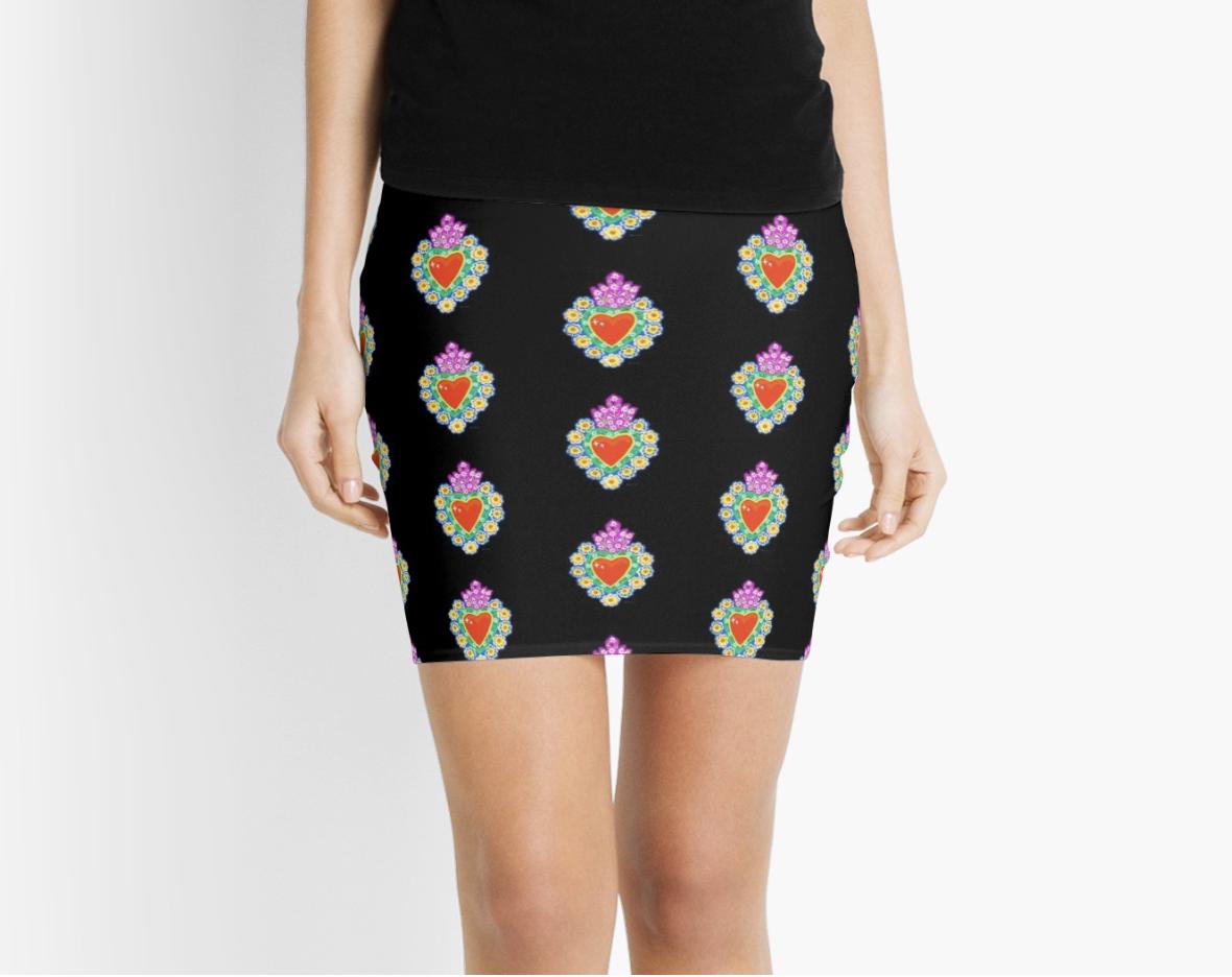 Sacred Heart Tin Skirt