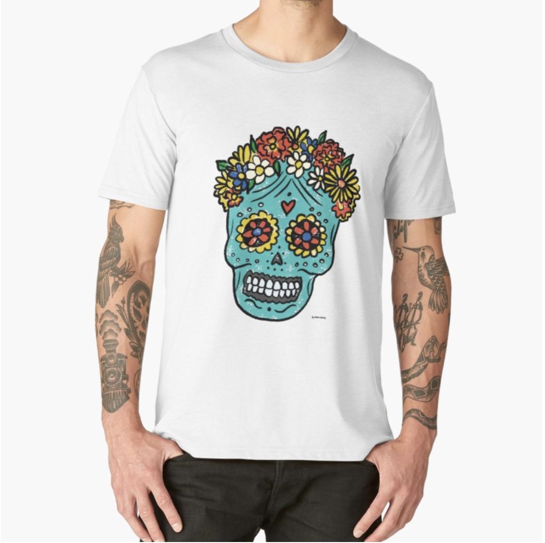 Sugar Skull - t-shirt