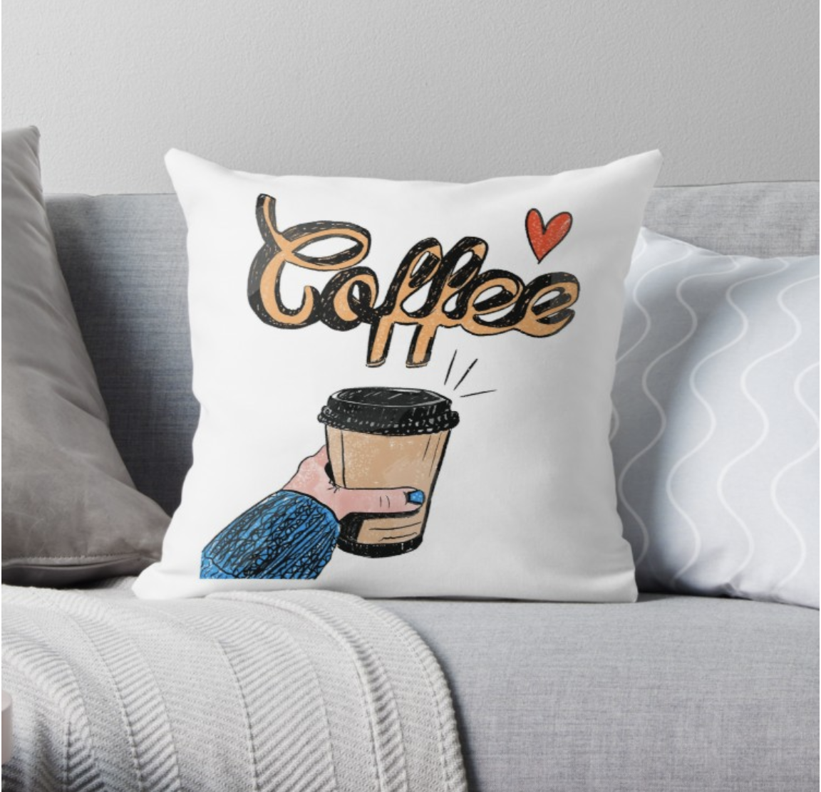 Coffee - Pillow
