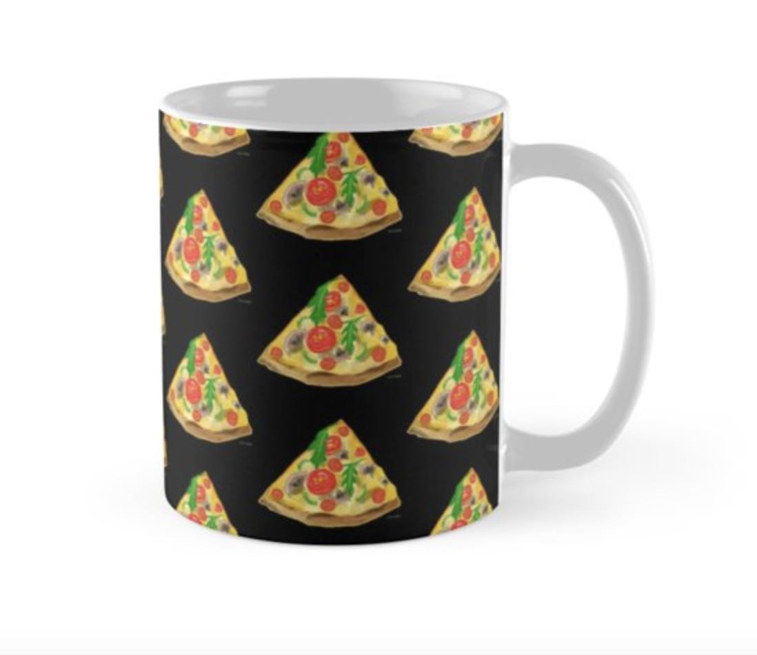 Pizza Pattern - Mug