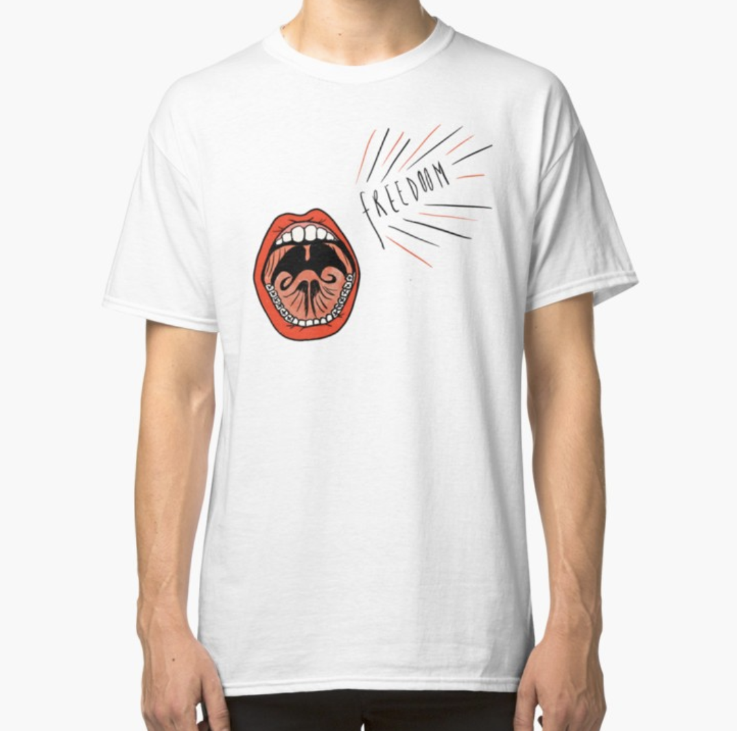 Freedom - t-shirt