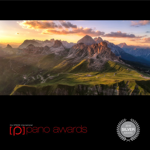 Silver medal on Epson pano awards