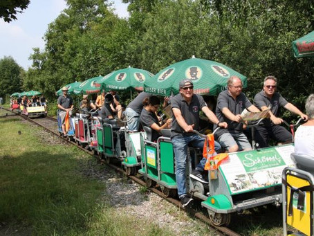 Ausflug in die Südpfalz /Draisinenbahn