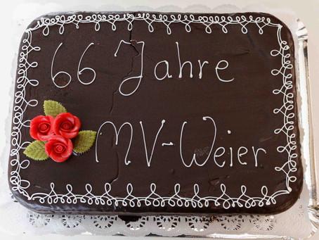 66 Jahre Musikverein Weier