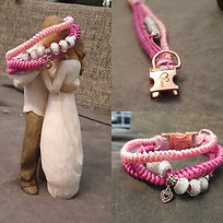 Paracord Halsband Hund kleine Hunde